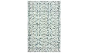 black white green area rug blue and rectangle indoor outdoor