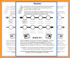 Timeline Templates For Kids Sample Student Newspaper Facebook