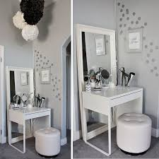 inspiring vanity desk with lightirror gallery ideas house make up desks decor 19