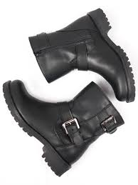 vegan womens biker boots in black by will s vegan shoes