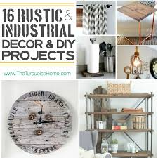 i absolutely love the rustic industrial style trend come check out 16 unique decor ideas