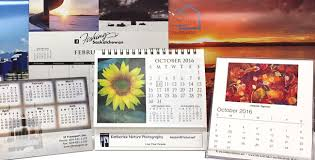 Custom Photo Calender Custom Printed Calendars Printed Promo Products Canada
