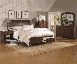 Sutton Cherry King Storage Bedroom