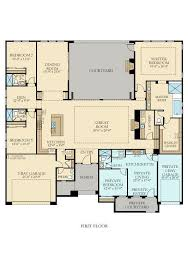 Ranch house floor plans luxury 3475 next gen by lennar new home plan in griffin ranch