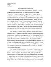 immigration essay immigration essay immigration causes more  5 pages prostution essay