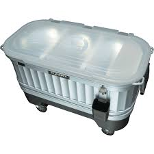 Igloo Ice Chest With Led Lights Igloo 49271 Party Bar Cooler Powered By Liddup