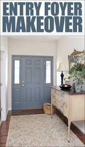 inside front door colors. Entryway Foyer Makeover Inside Front Door Colors