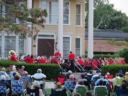 rose garden concerts libertyville village band