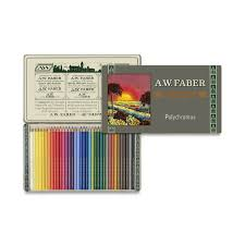 Faber Castell Polychromos Colored Pencil Limited Edition Set 36 Assorted Colors