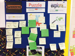 unit organizer routine template think puzzle explore cultures of thinking