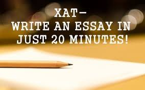 xat essay writing preparation tips  xat essay writing in 20 mins