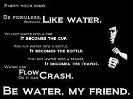 Bruce Lee Water Quote Simple Amazon PURCHASE PUNCH Empty Your MindBruce Lee's Quotes Poster