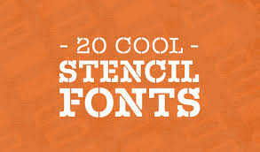 Stencil Fonts 20 Cool Stencil Fonts For Your Next Design Project