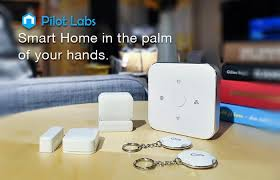 home automation alarm. pilot labs wireless zigbee ethernet pro home automation smart intruder alarm system with sensor and beacon set