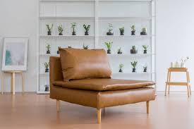 ikea soderhamn comfort works slipcover in savannah saddle leather