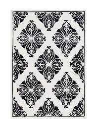 area rugs jeanelle hand woven wool black white indoor area rug