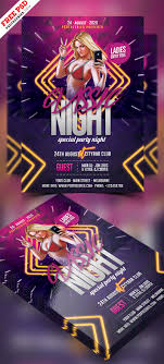 Part Flyer Club Night Party Flyer Free Psd Psdfreebies Com