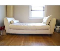 white leather daybed. Exellent Leather Leather Daybeds  Amalfi White Leather Daybed Is A White Sofas For Sale In  West Orange  On Daybed