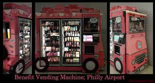 Benefit Vending Machine Custom Benefit Vending Machine At An Airport Aesthetic Snafu