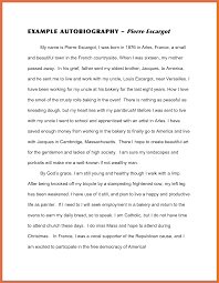 examples of an autobiography essay biography essay about myself  autobiography examples biography essay template autobiography examples
