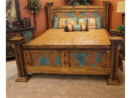 unique rustic furniture. Rustic Bedroom Furniture Suites Shabby Chic Brown Interior Tile Floor Red Floral Pattern Bedding Catchy Small Unique I