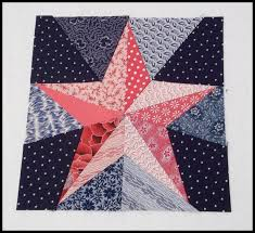 free pattern = The Five Pointed Star block by Hot Pink Peonies ... & free pattern = The Five Pointed Star block by Hot Pink Peonies: Red, Adamdwight.com