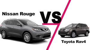 2014 Nissan Rogue vs Toyota Rav4 Comparison - YouTube