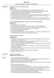 Critical Thinking Skills Resume Examples Best of Supply Chain Analytics Resume Samples Velvet Jobs