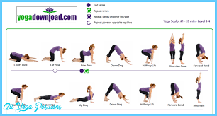 Basic Yoga Poses Chart Most Popular Simple Yoga Poses 2019