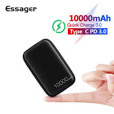 <b>Essager 10000 mAh Power Bank</b> Slim USB 10000 mAh Powerbank ...
