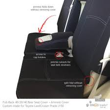 rear seat covers armrest cover