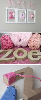 bedrooms for girls. 21 DIY Decorating Ideas For Girls Room   Yarn Wrapped Letters, Diy . Bedrooms