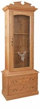 Amish Gun Cabinets in Standard Designs - Amish Custom Gun Cabinets