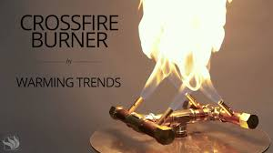 warming trends crossfire fire pit burner
