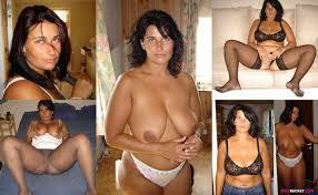 Dressed undressed amateur milfs