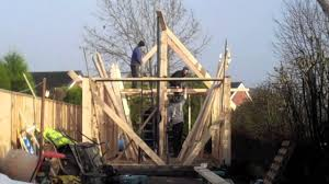 how to build a gable roof shed