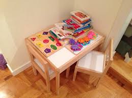 today s hint the best little table for toddlers