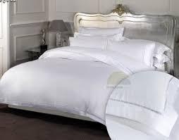 dorchestersuper king size 100 cotton bedding in white high thread count