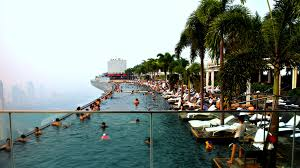 infinity pool singapore dangerous. Marina Bay Sands Skypark Infinity Pool Singapore Youtube Dangerous
