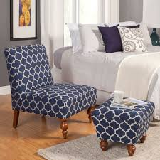 accent chair with ottoman. HomePop Susan Armless Accent Chair/ Ottoman Set Chair With