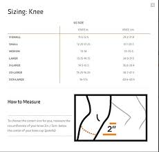 Shock Measurement Chart Is The Shock Doctor 875 Ultra Knee Brace With Bilateral
