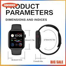 Đồng hồ thông minh W66 / -Thiết lập hình nền / Nút tròn xoay-Nút nguồn độc  lập - Đồng hồ thông minh