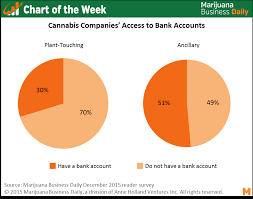 Chart Of The Week 60 Of Cannabis Companies Dont Have Bank
