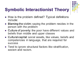 poverty and economic inequality in ppt video online symbolic interactionist theory