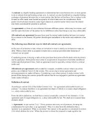 Binding Contract Template A Contract Is A Legally Binding Agreement Or Relationship That Exists