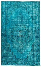 turquoise rug recolored carpets overdyed threshold