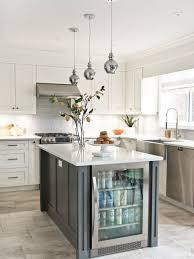 kitchen white glass backsplash. Transitional Kitchen Photos - L-shaped Gray Floor Photo In Toronto With A White Glass Backsplash