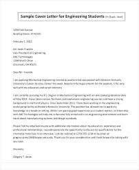 A Cover Letter Sample For Job Application Fresh Graduate Engineering