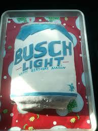 Busch Light Gif Homemade Busch Light Cake Food