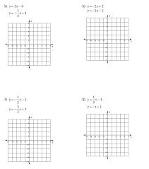 systems of equations graphing and substitution worksheet them and try to solve